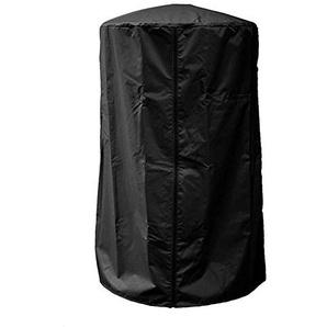 Simlug Couvercle de Chauffage de Patio, Couvercle Anti-poussière résistant aux UV imperméable de cheminée de Cour(Noir)