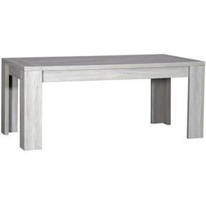 Table à manger couleur chêne gris contemporaine SANDRA