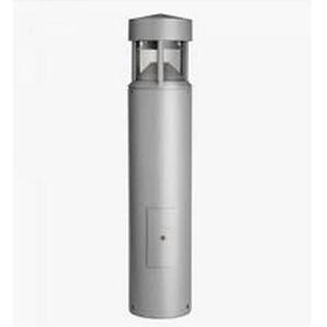 Borne exterieur aluminium 950mm Ø 200mm pour lampe fluo 26W Gx24d-3 tete pointue IP65 LITE ECLAIRAGE S.4155
