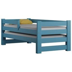 Lit gigogne Paul Duo 80x190 - Bleu - 80 cm x 190 cm