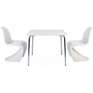 Table enfant Olivier - 2 chaises Panton