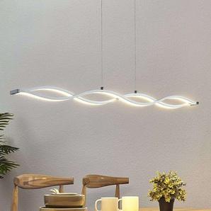Suspension linéaire LED Roan, en forme de vague