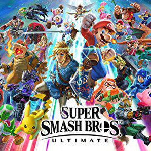 Super Smash Bros Ultimate - Video Game Wall Poster Print - 30.4 x 43.2cm Taille Affiche de Film