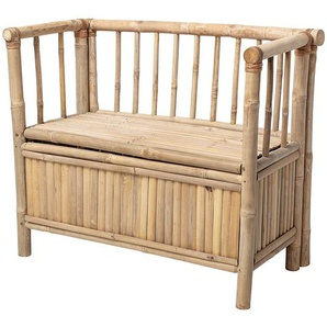 Bloomingville Banc Coffre - Nature Bambou