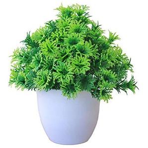WXGY Simulation de Plantes de Tour de pin Bonsaï Herbe Ball Bonsaï Petits Arbres Décoration de la Maison Fleur Ornements