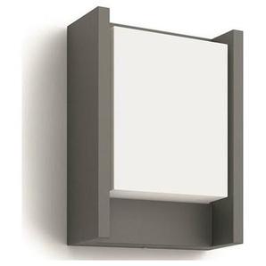 ARBOUR-Applique dextérieur LED Métal & Verre H22cm gris anthracite Philips