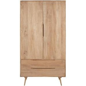 Dressing 2 portes 2 tiroirs en manguier massif Trocadero