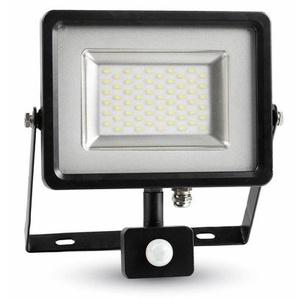 Projecteur LED SMD Floodlight avec capteur 30W 2400LM IP44 3000K Blanc Chaud V-TAC - 5699