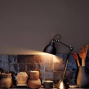 DCW éditions Lampe de table LAMPE GRAS N°205 - Noir - rond - Noir/ Cuivre