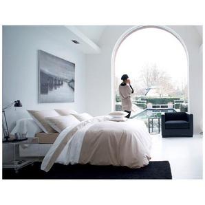 Housse de couette MEMORY Lin - Blanc des Vosges 200x200 cm