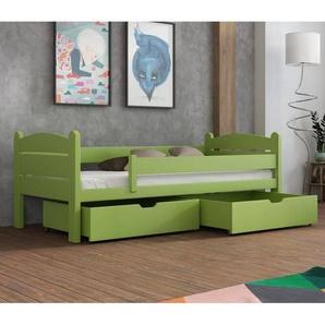 Lit Matis junior personnalisable - Vert - 70 cm x 160 cm