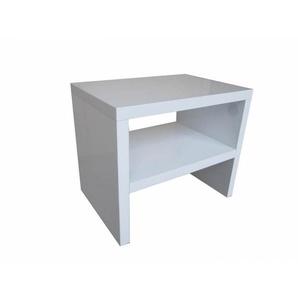 Chevet design blanc Bastian - Blanc - DELADECO