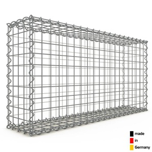 Gabion 100x50x20cm « made in Germany » - mailles carrées 5x5cm - GABIONDECO