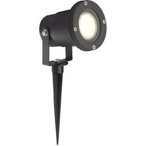 BRILLIANT Lampe exterieure LED à piquer noir