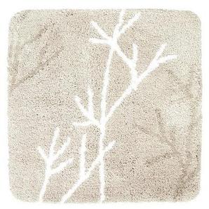 Differnz Leaf Tapis de bain 60x60cm beige