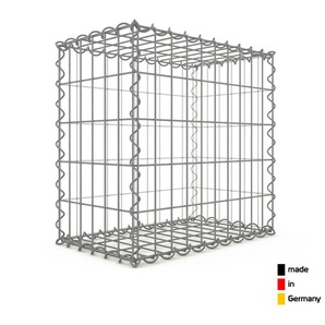 Gabion 50x50x30cm « made in Germany » - mailles rectangulaires 5x10cm - GABIONDECO