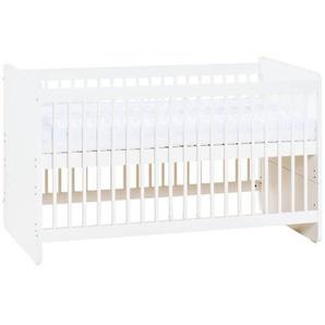 Lit bébé évolutif Maxime - Blanc