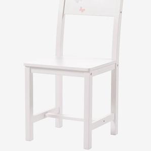 Chaise primaire, assise H 45 cm LIGNE ENVOLEE blanc