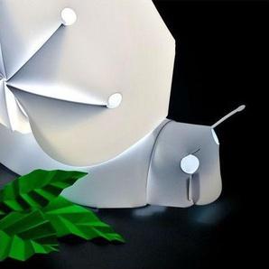 CHIOCCIOLA-Lampe à poser Escargot Blanc H30cm Blanc Officina Crea - designé par Ramin Razani