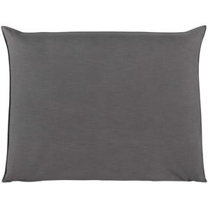 Housse de tête de lit 140 gris perle Soft