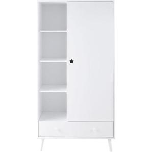 Dressing blanc 1 porte 1 tiroir Dreams