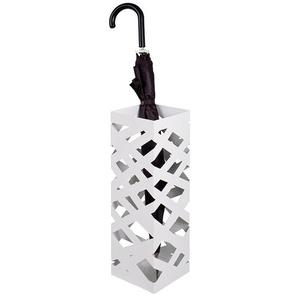 Porte parapluie design blanc Romeo
