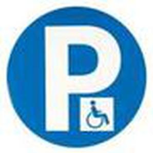 Panneau obligation - parking handicapes - Novap