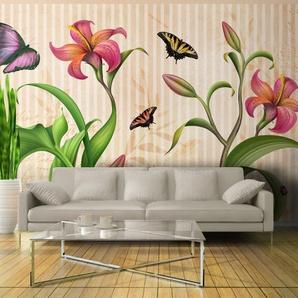 Papier peint - Vintage - spring