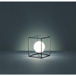 GABBIA ATTACCO G9 Lampe de table G9 avec interrupteur à fil de métal et de verre, couleur noire R50401032 - TRIO LIGHTING ITALIA