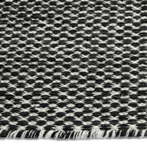 HAY Tapis Moiré  - noir - 170 x 240 cm