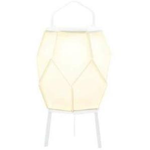 COUTURE-Lampe dextérieur LED solaire Aluminium H49cm Blanc Maiori - designé par Normal Design