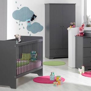 Chambre bébé Oslo anthracite