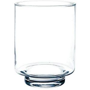 Bougeoir / Lanterne en verre BOB, transparent, 25 cm, Ø 19 cm - Photophore / Vase cylindrique - INNA Glas