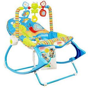 WY-Tong chaise bebe Fauteuil à bascule bébé, fauteuil de massage pliable léger multifonctions électrique secousse chaise vibrations sonores pour enfants Swing Chaise