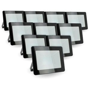 Lot de 10 projecteurs LED 30W IP65 extérieur | Température de Couleur: Blanc chaud 3000K - ECLAIRAGE DESIGN