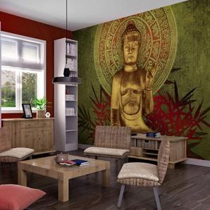 Papier peint - Le Bouddha dor