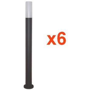 Borne Extérieure LED 1m IP65 220V (Pack de 6) - - SILAMP
