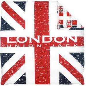 Housse de couette 240x220 cm 100% coton LONDON Union Jack