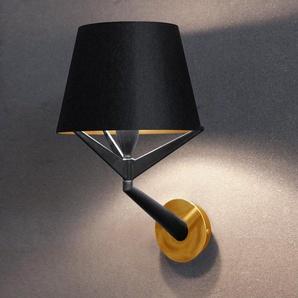 S71-Applique H14cm noir or Axis 71 - designé par Stephane Lebrun