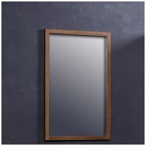 Miroir en bois de teck 80 - BOIS DESSUS BOIS DESSOUS