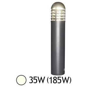 Potelet paraplume gris 230V 35W IP65 | Blanc Neutre 4000K - VISION-EL