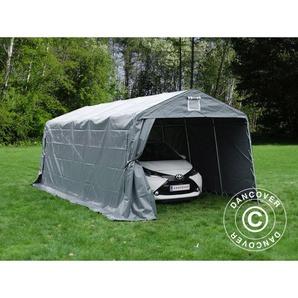 Tente Abri Voiture Garage PRO 3,3x6x2,4m PVC, Gris - DANCOVER