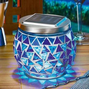 Lampe mosaïque solaire Judith