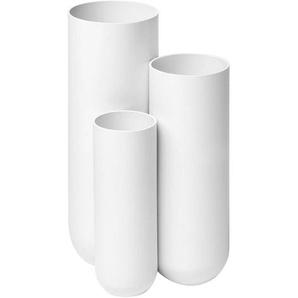 müller möbelfabrikation Porte-parapluie Step - blanc de sécurité RAL9003/satin fini/LxlxH 25x20x48cm