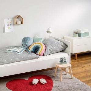 Tapis lavables pour enfants Bambini Heart Gris 120x160 cm - Tapis lavable pour chambre denfants/bébé