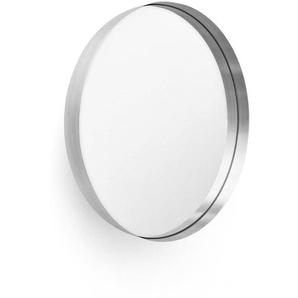 Menu - Darkly miroir large - alu brossé/Ø60cm