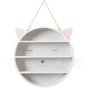 Étagère ronde chat