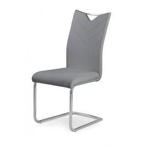 Chaise design métal et éco-cuir Octavia