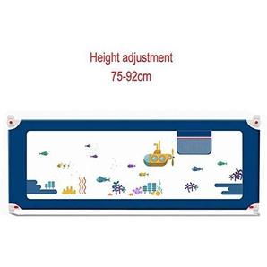 Garde de Rail de lit bébé, très Longue Garde de Rail de lit denfant en Bas âge pour Le Pliage des Enfants soutient Le Levage Vertical, 2,1.2m