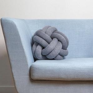 Design House Stockholm Coussins Knot - bleu foncé